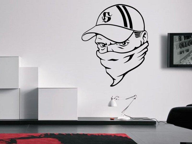 Samolepky na zeď Hooligan 001 - Samolepící dekorace a nálepka na stěnu