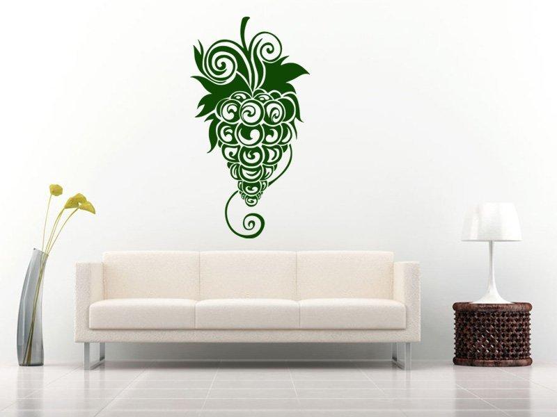 Samolepky na zeď Hrozen 001 - Samolepící dekorace a nálepka na stěnu