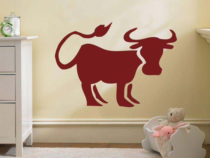 Samolepky na zeď Býk 001 - Samolepící dekorace a nálepka na stěnu