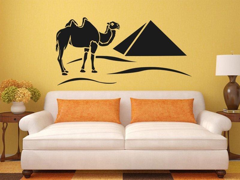 Samolepky na zeď Egypt 002 - Samolepící dekorace a nálepka na stěnu
