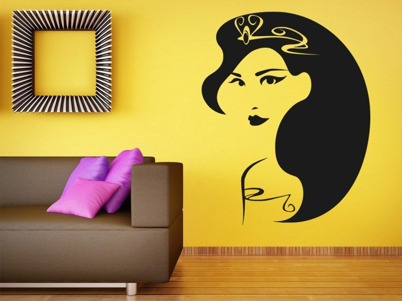 Samolepky na zeď Žena 039 - Samolepící dekorace a nálepka na stěnu