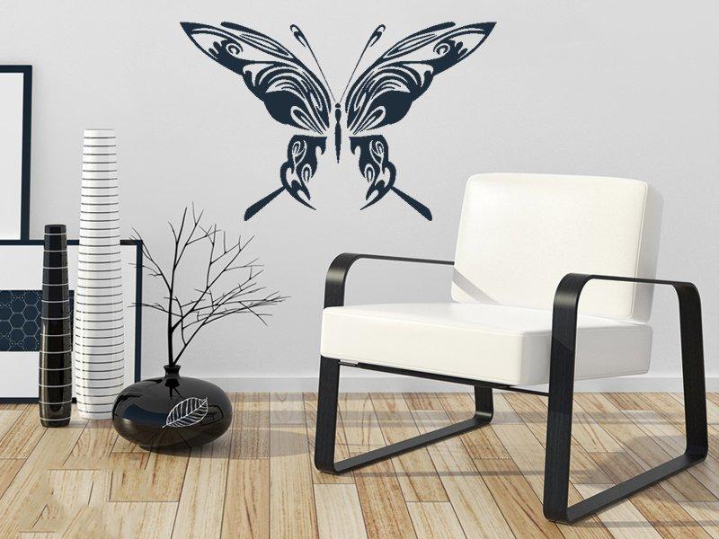 Samolepky na zeď Motýl 004 - Samolepící dekorace a nálepka na stěnu