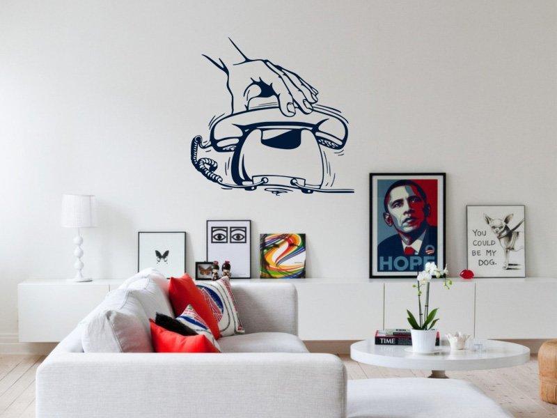 Samolepky na zeď Telefon 001 - Samolepící dekorace a nálepka na stěnu