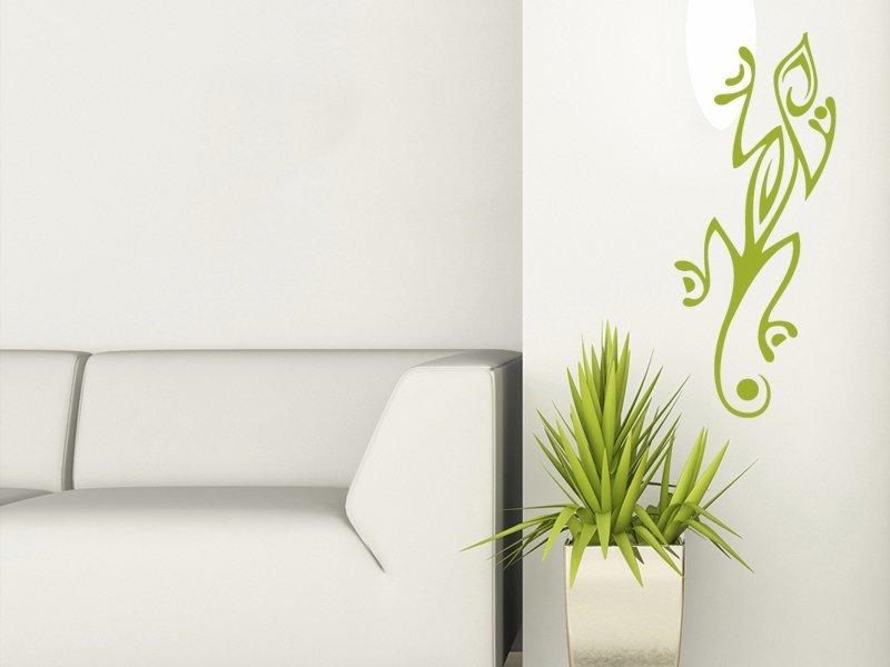 Samolepky na zeď Ještěrka 005 - Samolepící dekorace a nálepka na stěnu