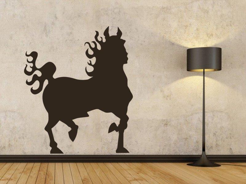 Samolepky na zeď Kůň 016 - Samolepící dekorace a nálepka na stěnu