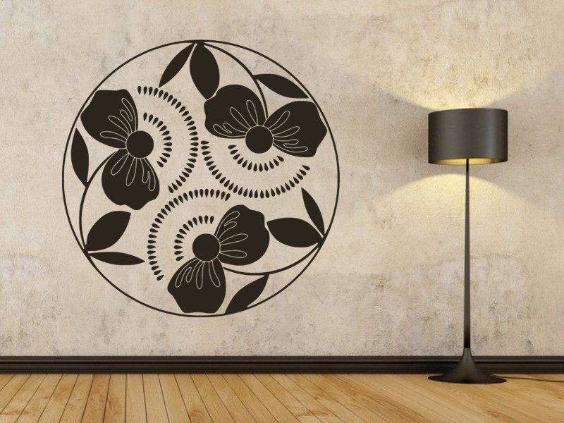 Samolepky na zeď Poupata 001 - Samolepící dekorace a nálepka na stěnu