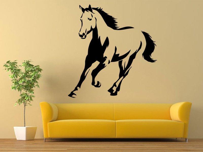 Samolepky na zeď Kůň 0393 - Samolepící dekorace a nálepka na stěnu