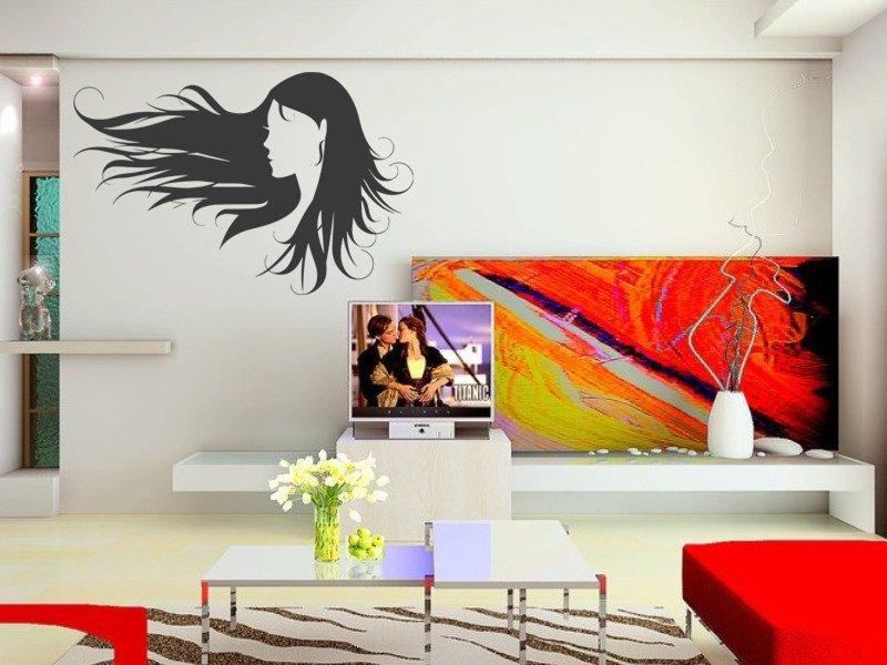 Samolepky na zeď Žena 028 - Samolepící dekorace a nálepka na stěnu