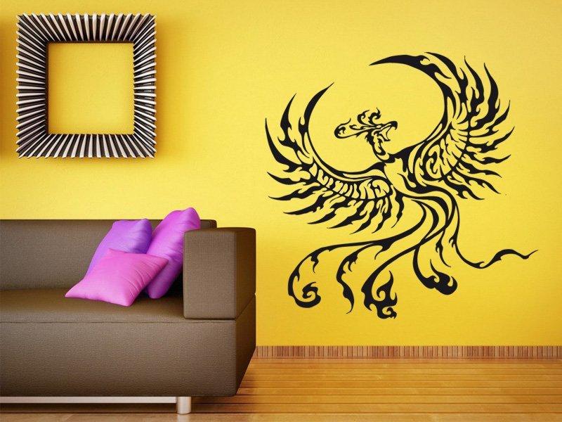 Samolepky na zeď Fénix 005 - Samolepící dekorace a nálepka na stěnu