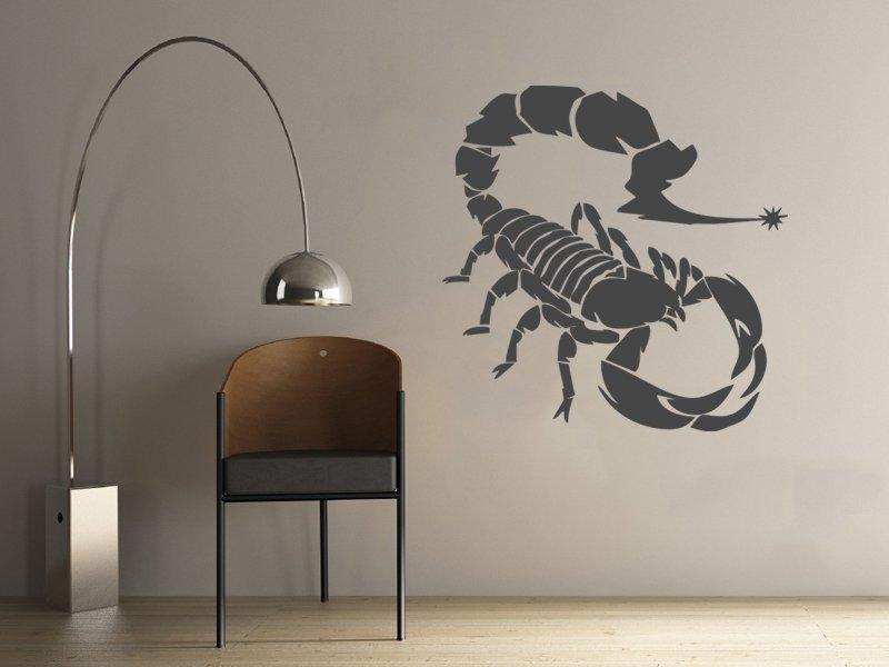 Samolepky na zeď Škorpión 001 - Samolepící dekorace a nálepka na stěnu