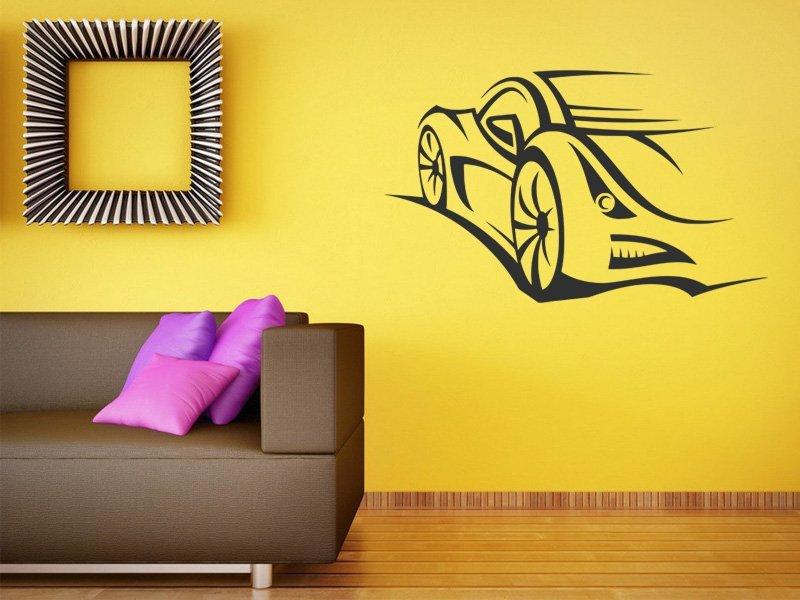 Samolepky na zeď Auto 052 - Samolepící dekorace a nálepka na stěnu