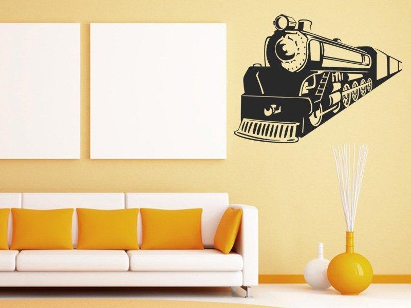 Samolepky na zeď Vlak 009 - Samolepící dekorace a nálepka na stěnu
