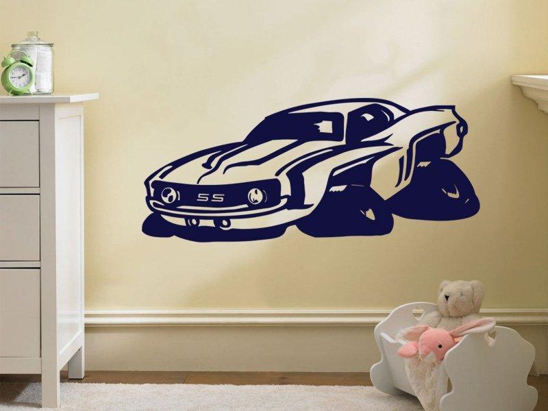 Samolepky na zeď Auto 015 - Samolepící dekorace a nálepka na stěnu