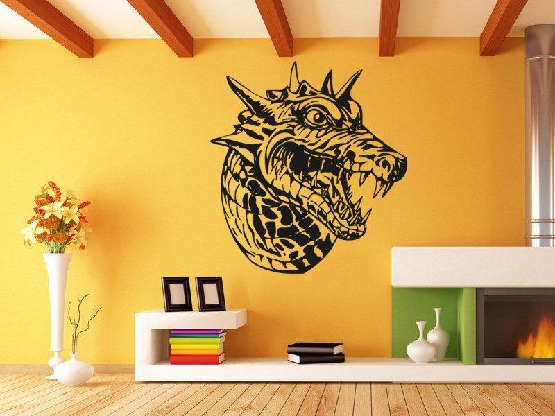 Samolepky na zeď Čínský drak 001 - Samolepící dekorace a nálepka na stěnu