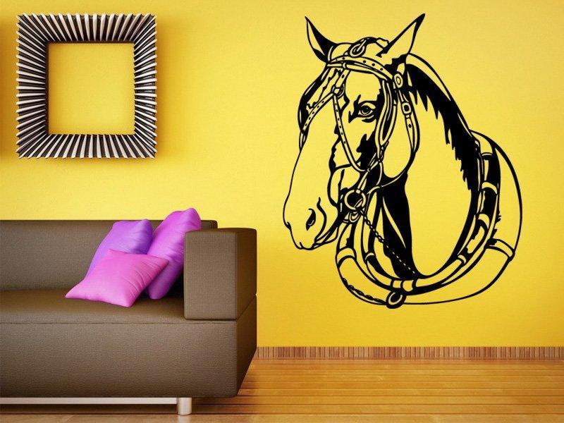 Samolepky na zeď Kůň 0324 - Samolepící dekorace a nálepka na stěnu