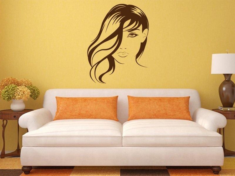 Samolepky na zeď Žena 024 - Samolepící dekorace a nálepka na stěnu
