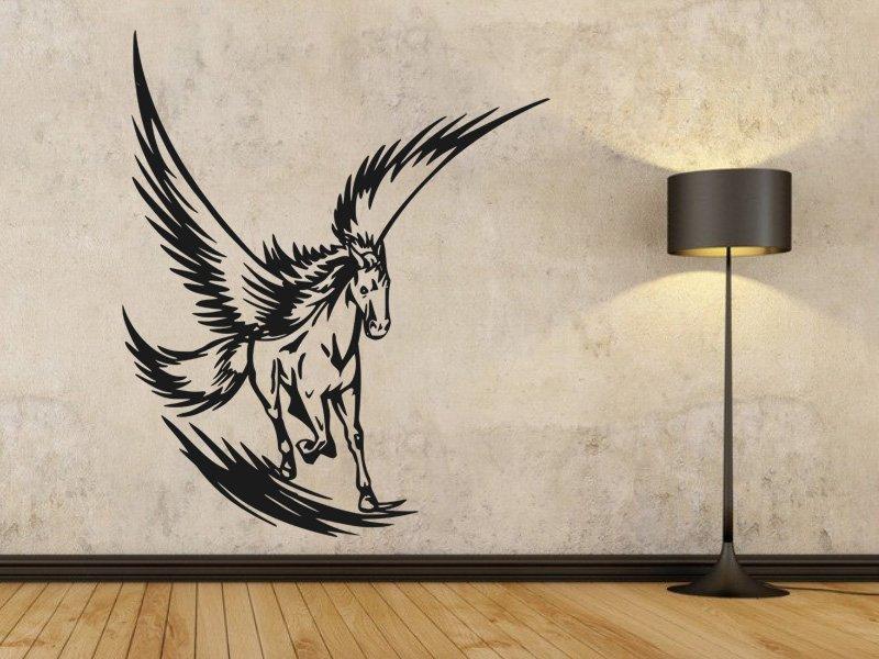 Samolepky na zeď Pegas 001 - Samolepící dekorace a nálepka na stěnu