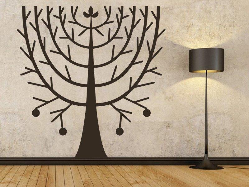 Samolepky na zeď Strom 0228 - Samolepící dekorace a nálepka na stěnu