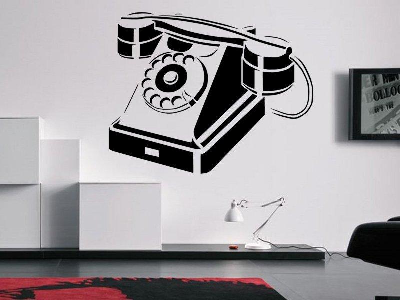 Samolepky na zeď Telefon 0294 - Samolepící dekorace a nálepka na stěnu
