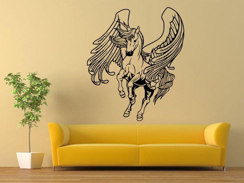 Samolepky na zeď Kůň 0352 - Samolepící dekorace a nálepka na stěnu