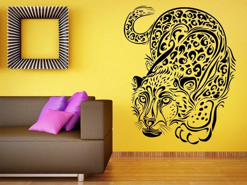 Samolepky na zeď Leopard 001 - Samolepící dekorace a nálepka na stěnu