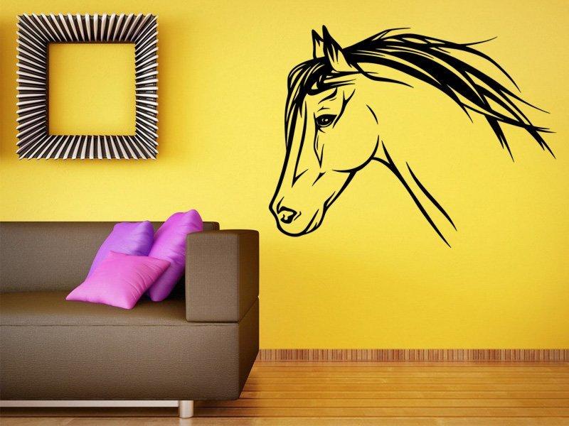 Samolepky na zeď Kůň 0329 - Samolepící dekorace a nálepka na stěnu