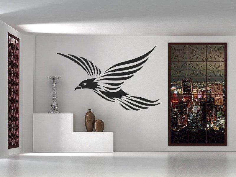 Samolepky na zeď Pták 001 - Samolepící dekorace a nálepka na stěnu