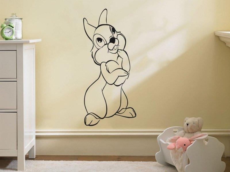 Samolepky na zeď Křeček 001 - Samolepící dekorace a nálepka na stěnu