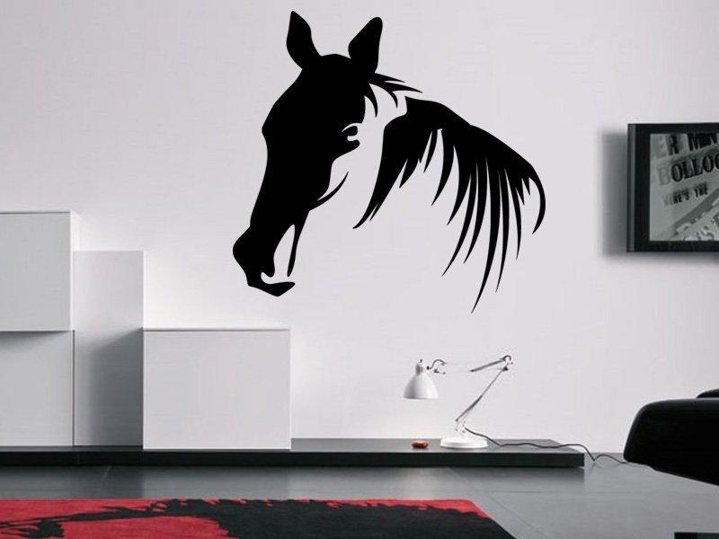 Samolepky na zeď Kůň 0362 - Samolepící dekorace a nálepka na stěnu