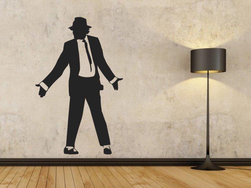 Samolepky na zeď Michael Jackson 1333 - Samolepící dekorace a nálepka na stěnu