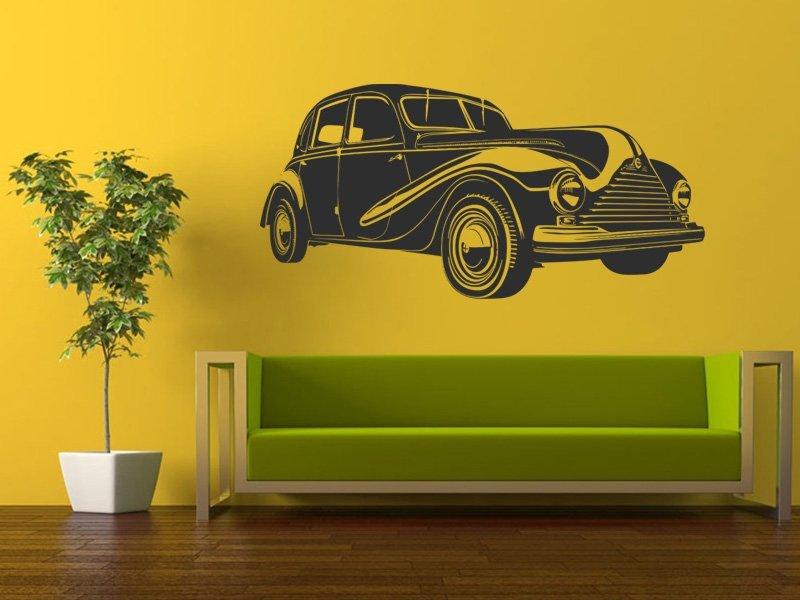Samolepky na zeď Auto 058 - Samolepící dekorace a nálepka na stěnu