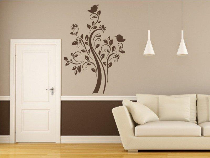 Samolepky na zeď Strom 069 - Samolepící dekorace a nálepka na stěnu