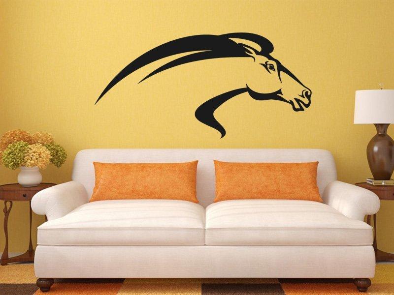 Samolepky na zeď Kůň 0394 - Samolepící dekorace a nálepka na stěnu