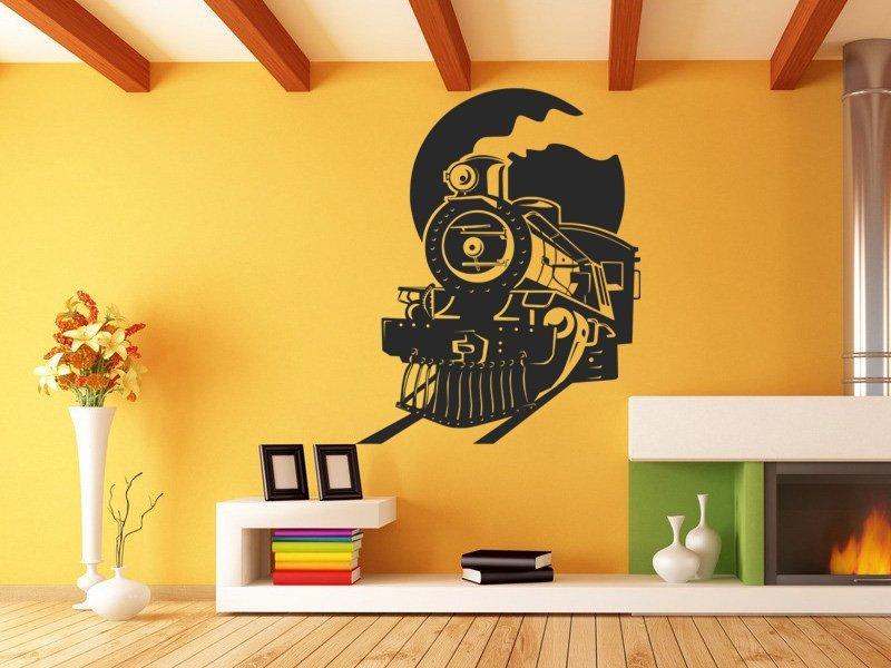 Samolepky na zeď Vlak 008 - Samolepící dekorace a nálepka na stěnu
