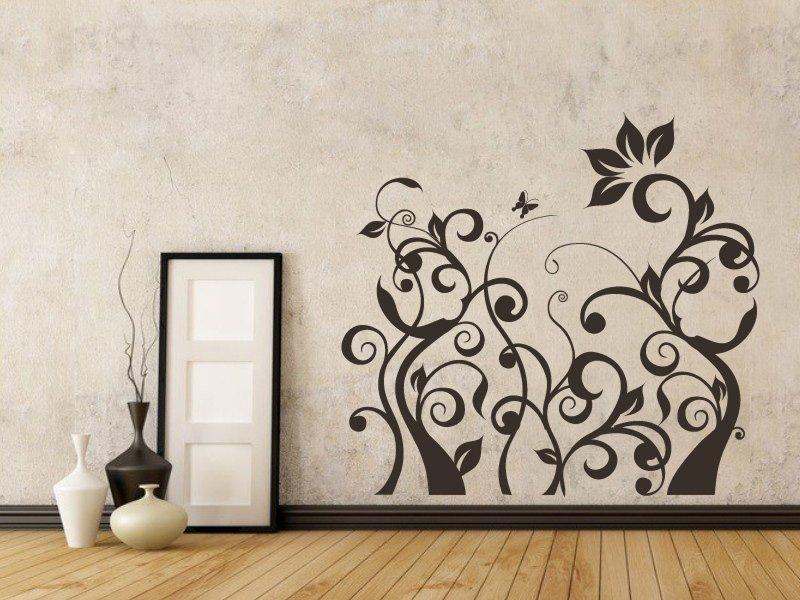 Samolepky na zeď Rostlina 013 - Samolepící dekorace a nálepka na stěnu