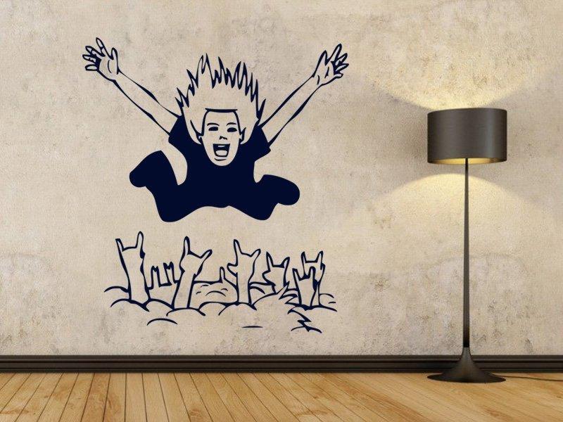 Samolepky na zeď Muž 001 - Samolepící dekorace a nálepka na stěnu