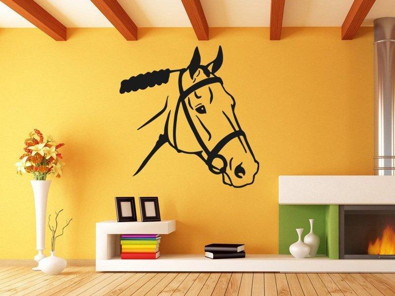 Samolepky na zeď Kůň 0316 - Samolepící dekorace a nálepka na stěnu