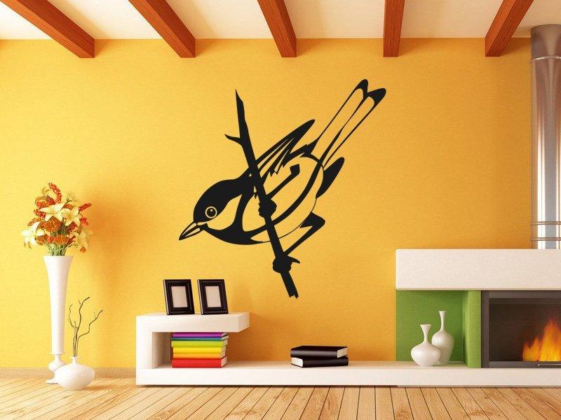 Samolepky na zeď Pták 012 - Samolepící dekorace a nálepka na stěnu