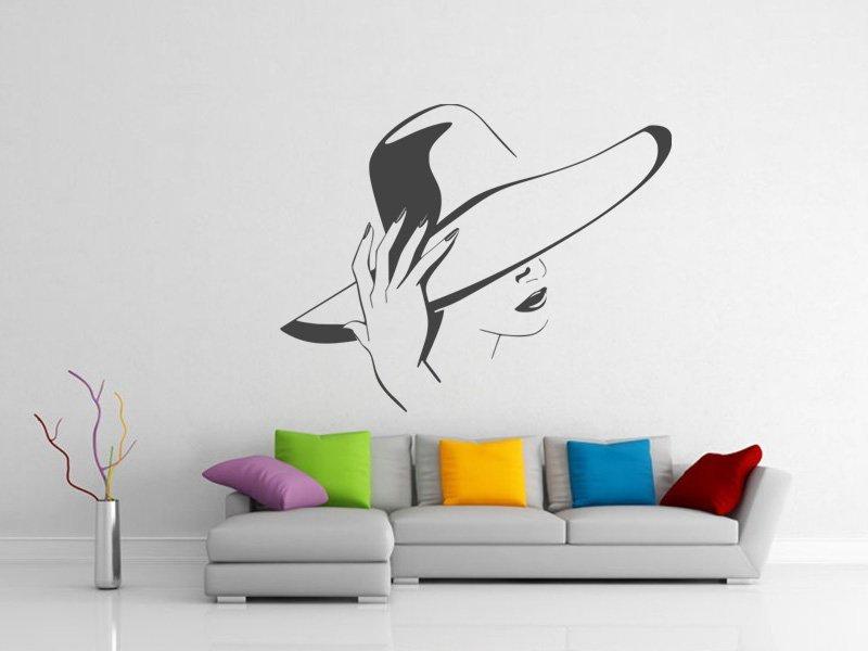 Samolepky na zeď Žena 030 - Samolepící dekorace a nálepka na stěnu