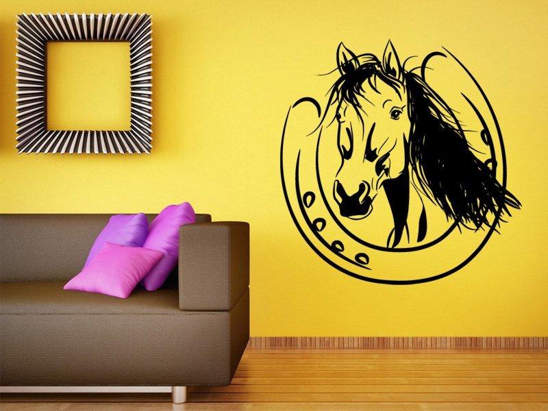 Samolepky na zeď Kůň 0410 - Samolepící dekorace a nálepka na stěnu