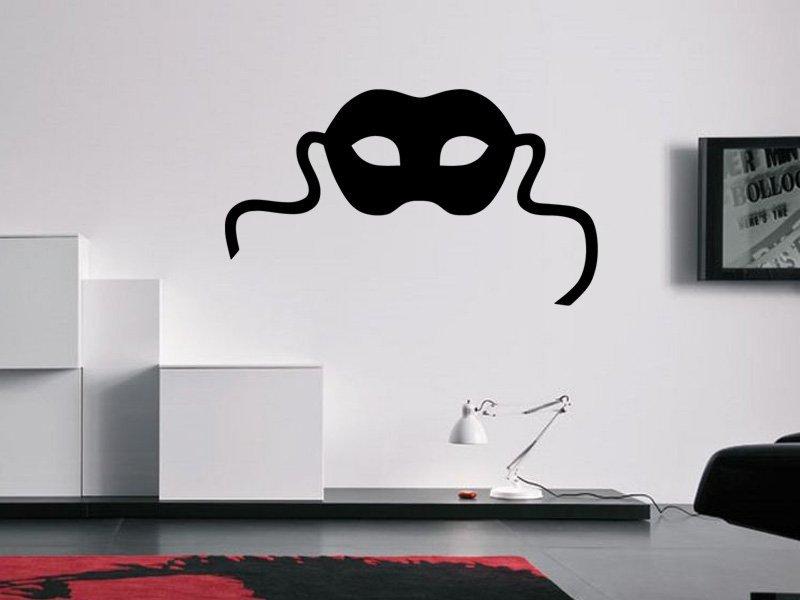 Samolepky na zeď Maska 0203 - Samolepící dekorace a nálepka na stěnu