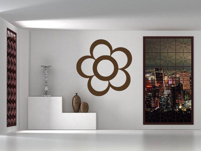 Samolepky na zeď Květ 001 - Samolepící dekorace a nálepka na stěnu