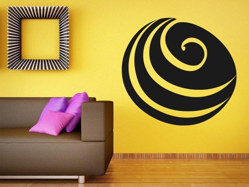 Samolepky na zeď Mušle 0290 - Samolepící dekorace a nálepka na stěnu