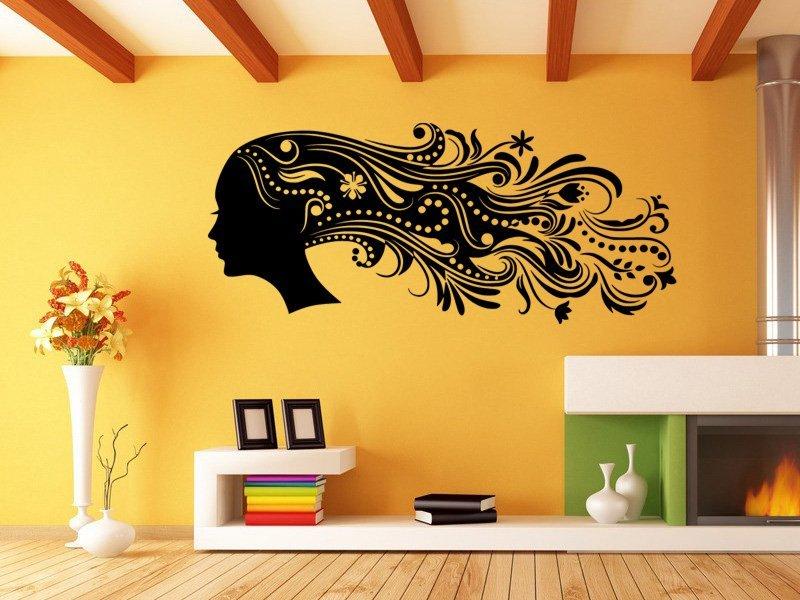 Samolepky na zeď Žena 0313 - Samolepící dekorace a nálepka na stěnu