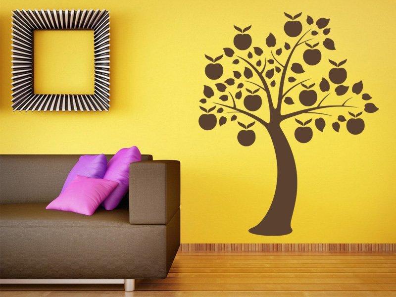 Samolepky na zeď Strom 065 - Samolepící dekorace a nálepka na stěnu