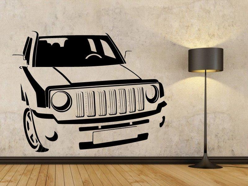 Samolepky na zeď Auto 041 - Samolepící dekorace a nálepka na stěnu