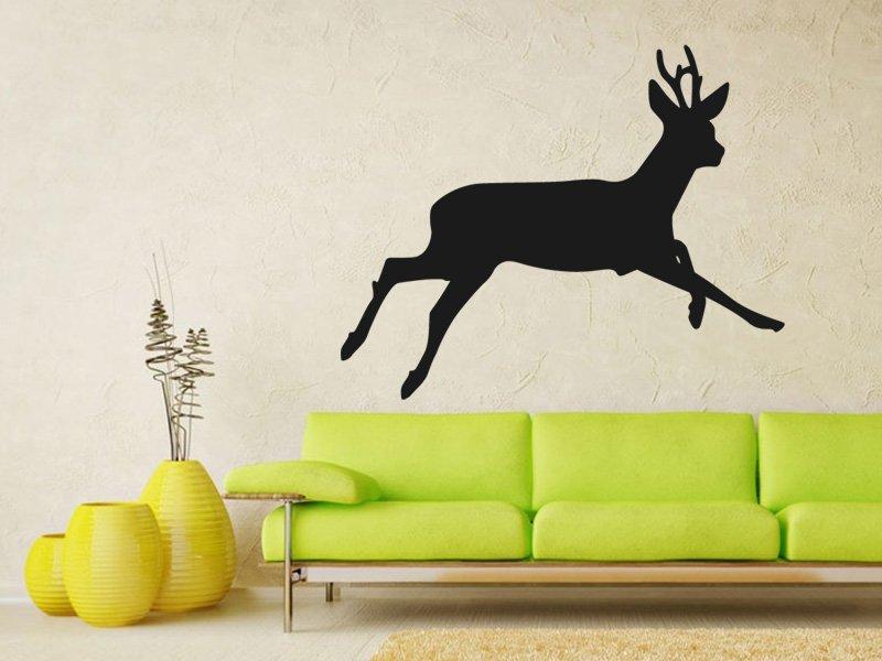 Samolepky na zeď Jelen 002 - Samolepící dekorace a nálepka na stěnu