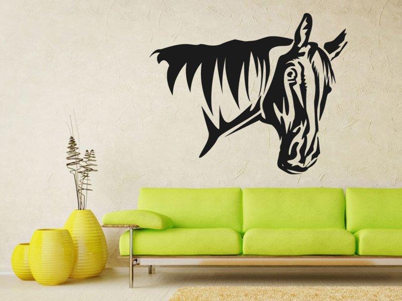 Samolepky na zeď Kůň 0363 - Samolepící dekorace a nálepka na stěnu