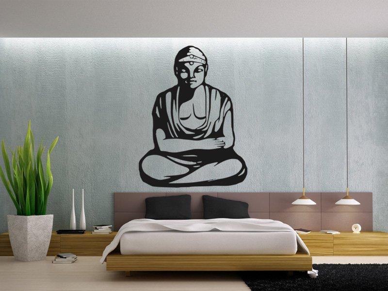 Samolepky na zeď Budha 002 - Samolepící dekorace a nálepka na stěnu