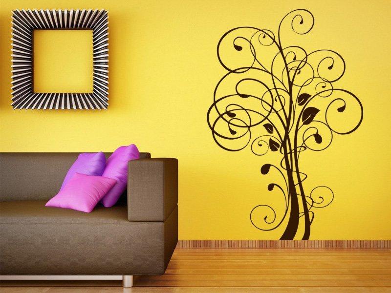 Samolepky na zeď Strom 006 - Samolepící dekorace a nálepka na stěnu